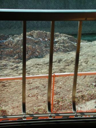 水路撤去後に土を入れる-2