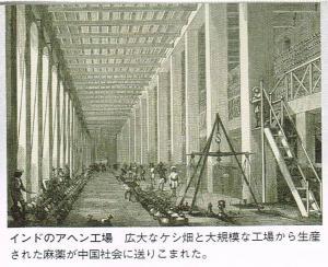 インドのアヘン工場②