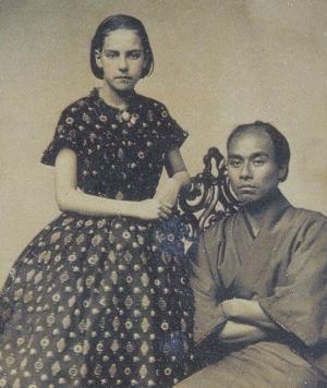 諭吉とアメリカ人少女