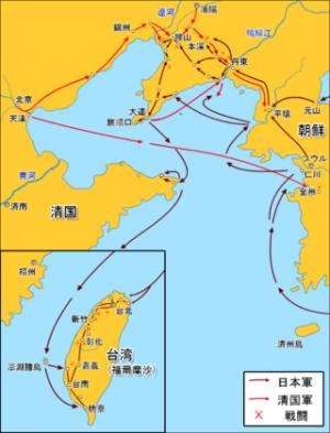 日清戦争図