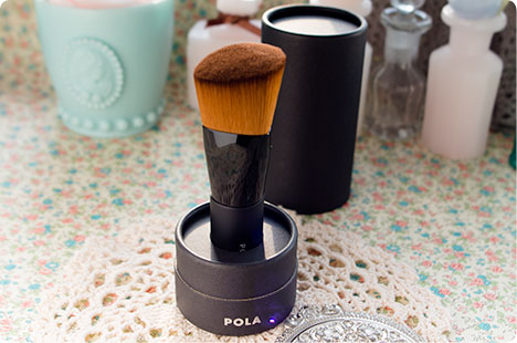 POLA 熊野化粧筆(肌)はだ