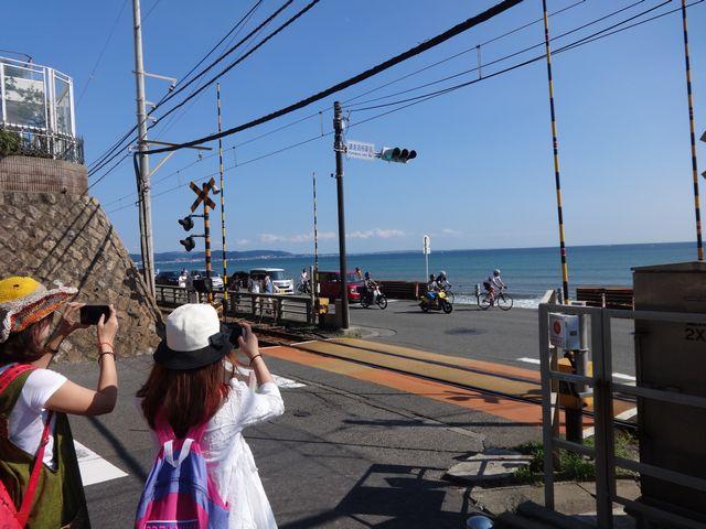 江ノ電鎌倉高校前踏切