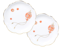 花毬 小皿2