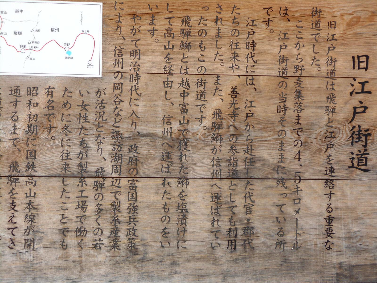 旧江戸街道の歴史