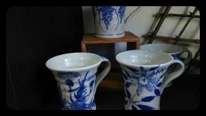 信楽焼きカップ
