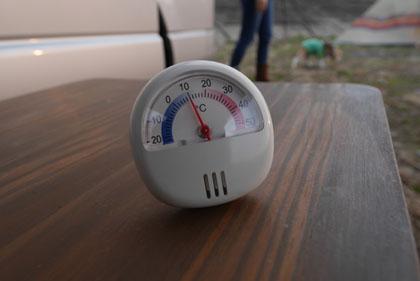 05朝の気温