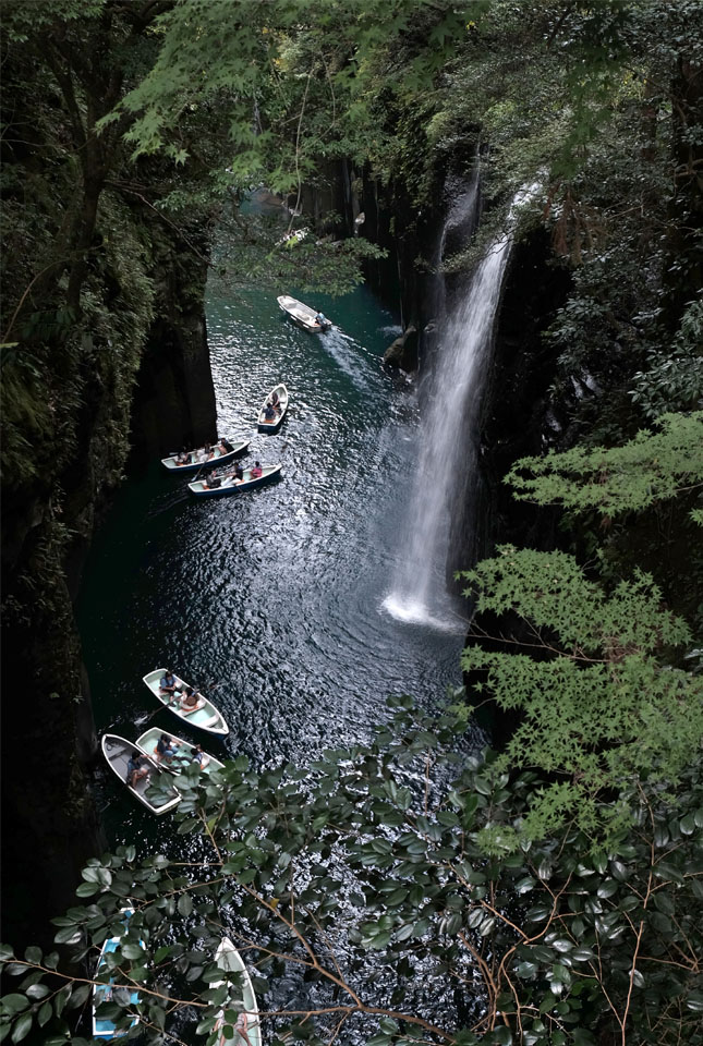 8538 高千穂峡真名井の滝 645×960