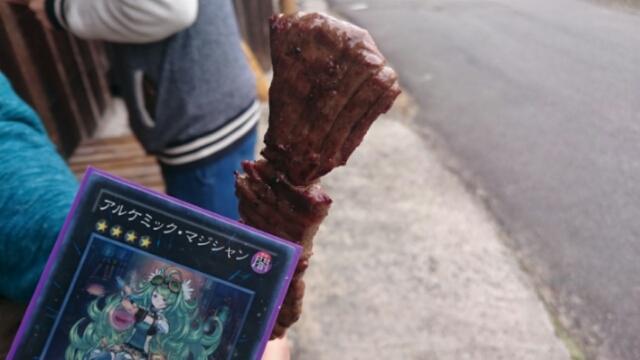 信州牛串焼き