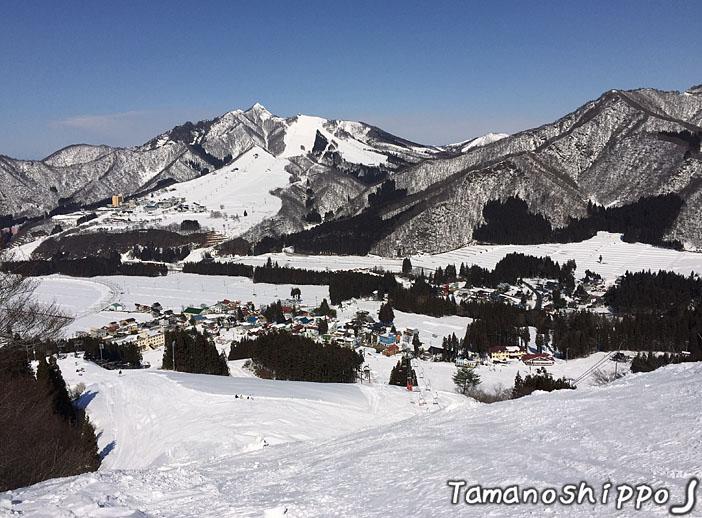 雪景色(ゲレンデビュー^^)