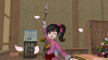 桜マジックのしぐさ