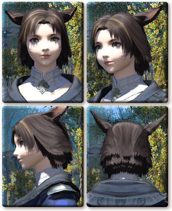 FF14は2015年11月10日にパッチ3.1があたりました。 とりいそぎ、ミコッテ女性の髪型カタログを更新。