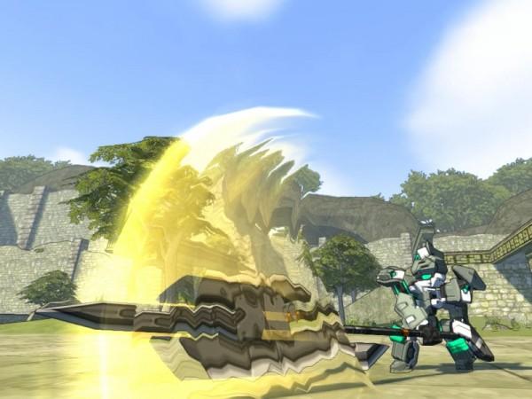 基本無料のMMOバトルシューティングオンラインゲーム『コズミックブレイク2』 ガトリングを2丁携えたバスタークラスの新ロイド「リッカ」がリーグに参戦