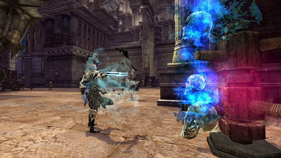 基本無料のファンタジーオンラインゲーム『エコーオブソウル(EOS)』  新クラス「ウォーロック」の実装を含むアップデートを実施