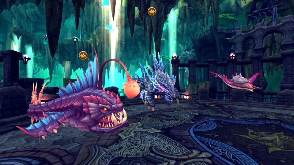 基本無料のハンティングファンタジーオンラインゲーム『ハンターヒーロー』 高難度ダンジョン「竜の慟哭」を実装