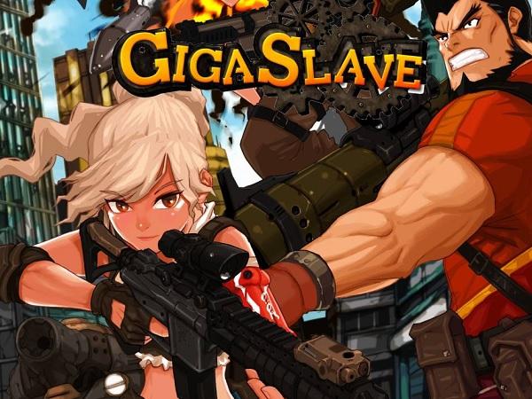 基本プレイ無料で遊べる2D横スクロールシューティングゲーム 『GIGA SLAVE(ギガスレイブ)』