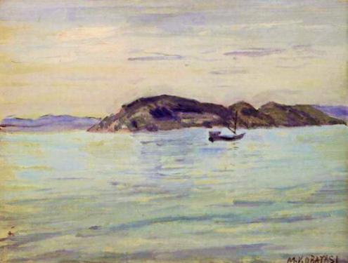 小林万吾 (1870-1947)内海の小島