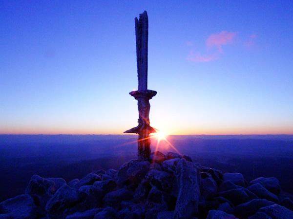 20160324 高千穂峰と天の逆鉾