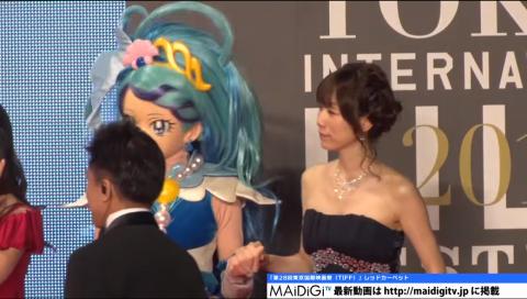 プリンセスプリキュア声優、宮野真守らがレッドカーペットに!「第28回東京国際映画祭」