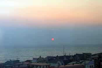 20151103_優駿の塔からの夕日