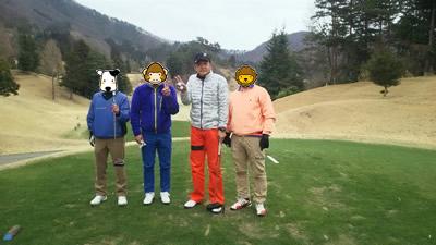 平成28年3月21日ゴルフ