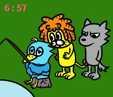 dr20151101朝のアニメ