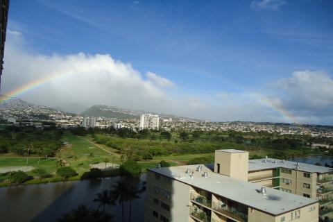 ハワイのレインボー2