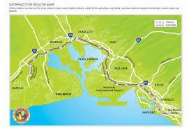 ハワイ高速鉄道機構 地図