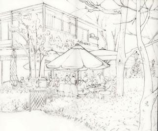 日比谷茶廊ペン