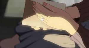 呪いの指環