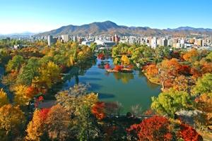 秋の中島公園