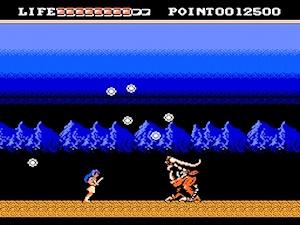 夢幻戦士ヴァリスのゲーム画面