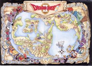 DQ2イラストマップ