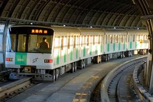 ゴムタイヤの地下鉄その3