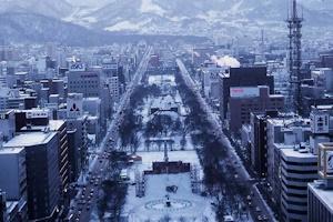 冬の札幌20151126