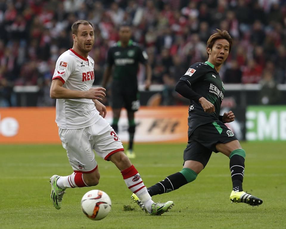 Sieg in Köln Hannover 96 FC mit 1_0 kiyotake
