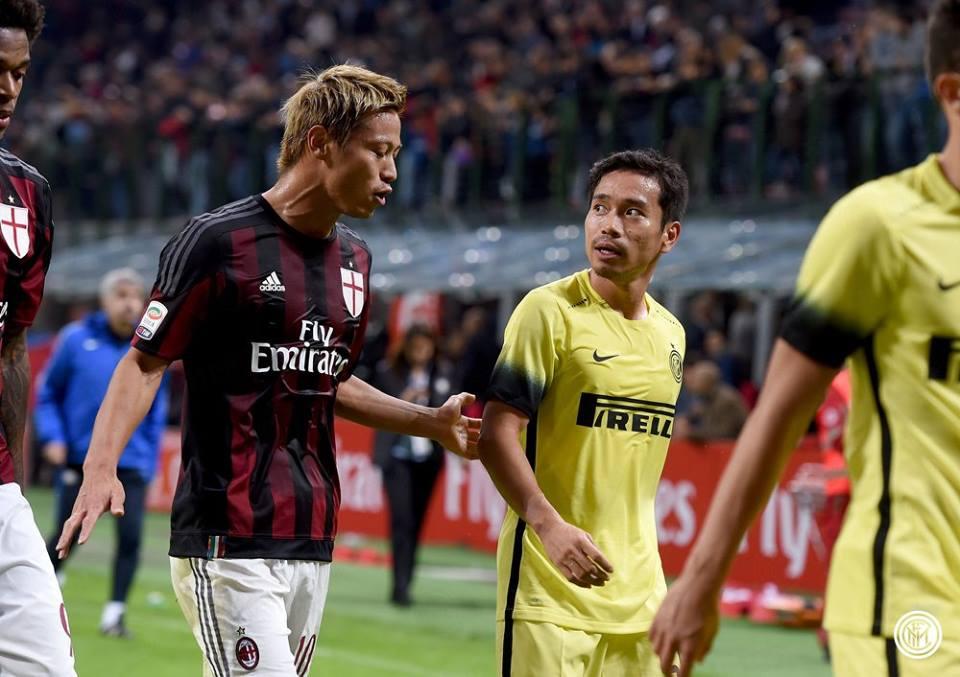 Trofeo Berlusconi, Milan-Inter 0-1 honda nagatomo