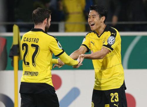 Borussia Dortmund 71 SC Paderborn kagawa Castro