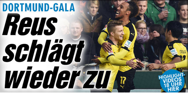 Werder Bremen - Borussia Dortmund 1_3