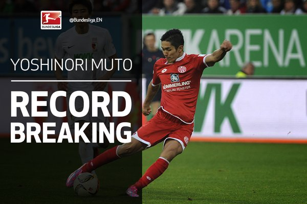 No Japanese player scored as many goals as @Mainz05ens @yoshimuto18 after opening 11 games