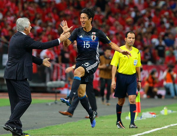 kanazaki mu scored against singapore