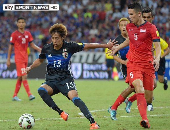 Hannovers Hiroshi Kiyotake hat sich bei der japanischen Nationalmannschaft einen Haarriss im Fuß zugeszogen