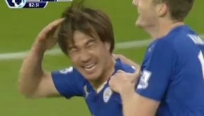 Okazaki goal of the game against Newcastle