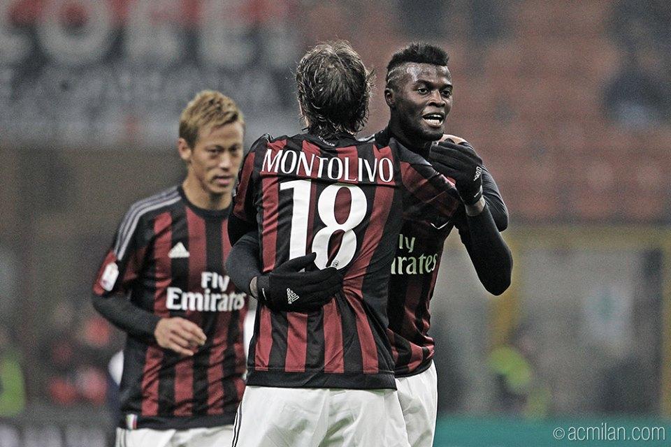 Riccardo Montolivo Keisuke Honda MilanCrotone 3-1