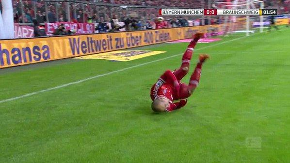Arjen Robben features in Bundesliga's Top 5 Worst Goal Celebrations Ever
