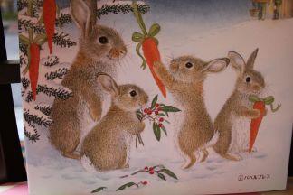 うさぎにもクリスマスはくるかしら
