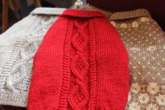 ネコ手編みセーター