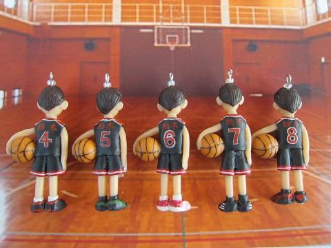 バスケ少年ストラップ2