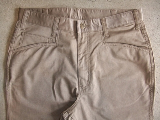 BENDAVIS STRETCH 5 POCKET PANTS BEIGE FT1
