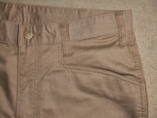 BENDAVIS STRETCH 5 POCKET PANTS BEIGE FT2