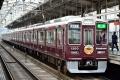 阪急1300系【1300F(京都線リラックマ号・梅田方)】(20160403)